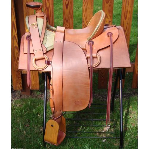 Custom FA Meanea Style Stock Saddle